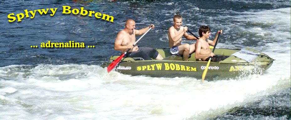 Spływy pontonowe po Bobrze
